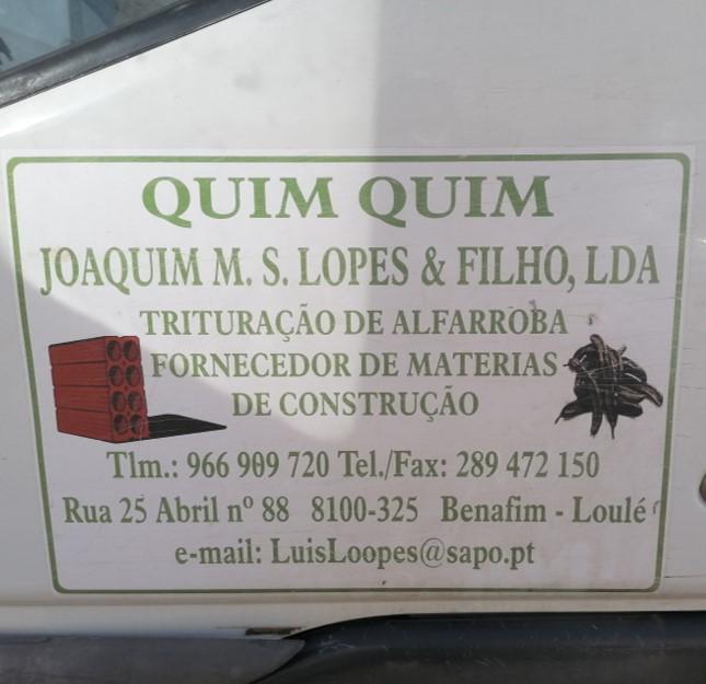 Quim Quim - Joaquim Manuel S. Lopes & Filho, Lda