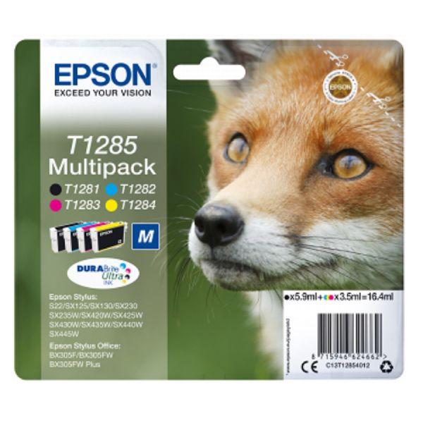 Pack de tinteiros original Epson 4 cores T128 - C13T12854010