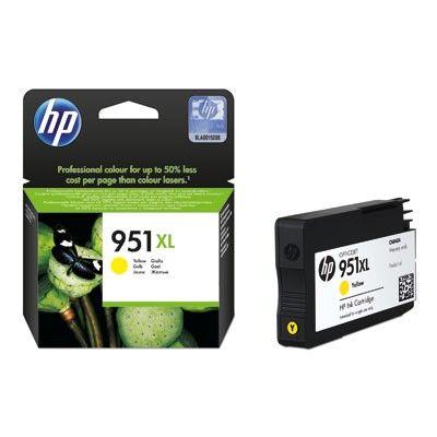 Tinteiro original HP amarelo nr 951XL - CN048AE