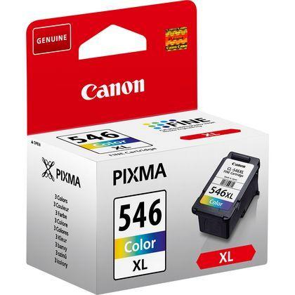 Tinteiro original Canon Cor Alta Capacidade CL546XL - CANCL546XL