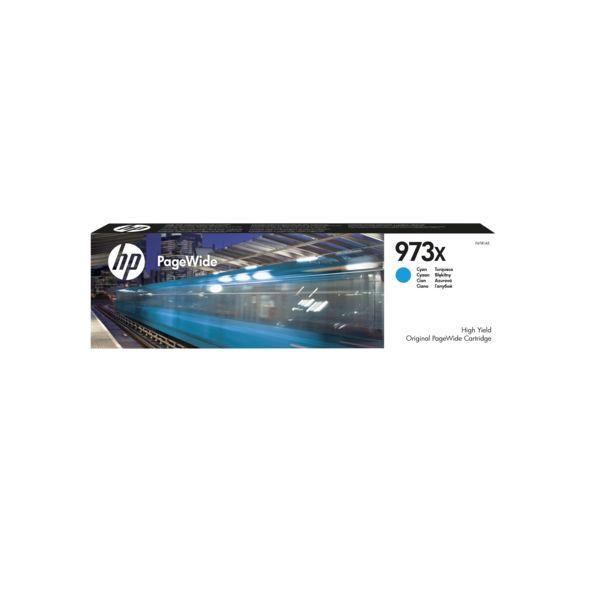 Tinteiro original HP PageWide Azul 973X - F6T81AE