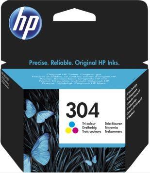 Tinteiro original HP nr 304 Côr - N9K05AE