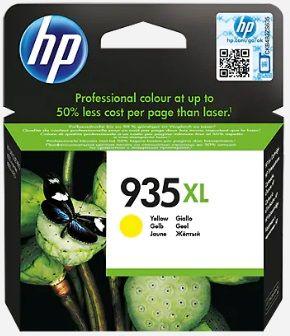 Tinteiro original HP amarelo nr 935XL - C2P26AE