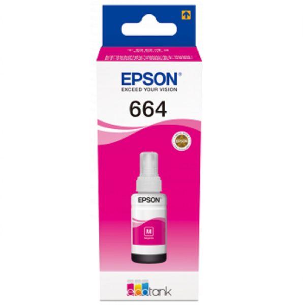 Ink Bottle 70ml Epson original magenta T6643 - C13T664340
