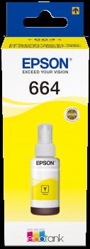 Ink Bottle 70ml Epson original amarelo T6644 - C13T664440