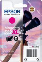 Tinteiro original Epson Magenta 502XL - C13T02W34020