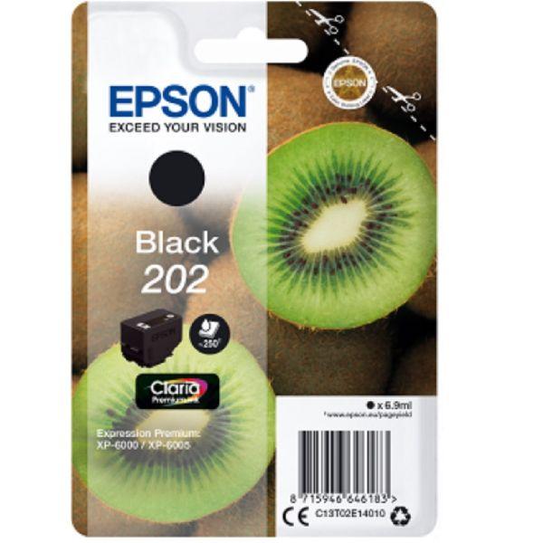 Tinteiro original Epson preto 202 - C13T02E14020