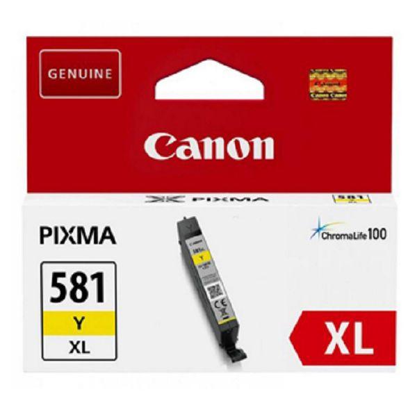 Tinteiro original Canon Amarelo Alta Capacidade 581YXL - 2051C001