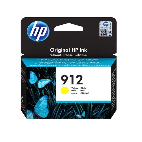 Tinteiro original HP amarelo 912 - 3YL79A
