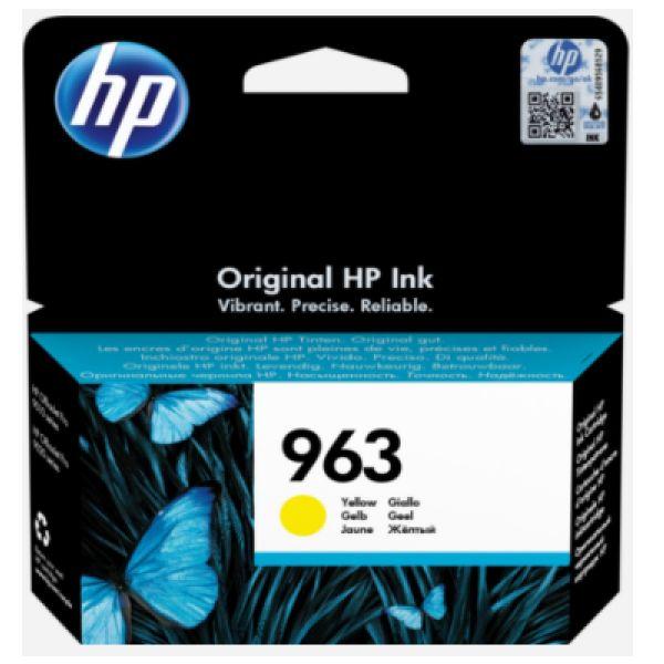 Tinteiro HP original 963 Amarelo - 3JA25AE
