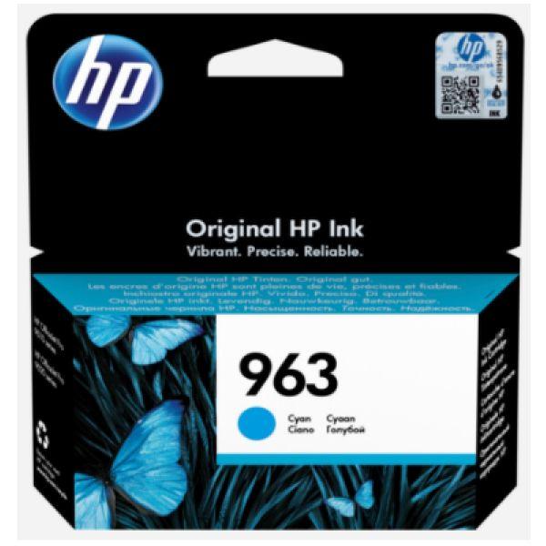Tinteiro HP original 963 Cyan - 3JA23AE
