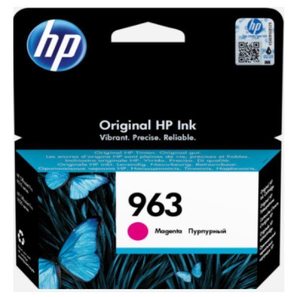 Tinteiro HP original 963 Magenta - 3JA24AE