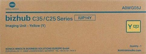 Unidade imagem amarelo original Konica Minolta IUP-14Y - A0WG08J