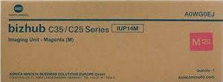 Unidade imagem magenta original Konica Minolta IUP-14M - A0WG0EJ