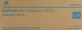 Unidade imagem cyan original Konica Minolta IUP-14C - A0WG0KJ