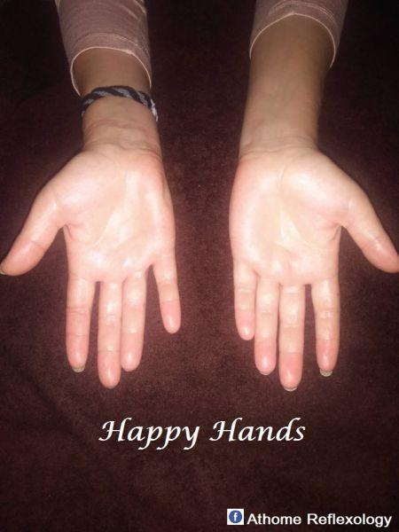 Reflexologia Mãos